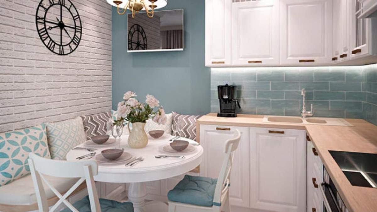 Декор маленькой кухни – как экономить пространство