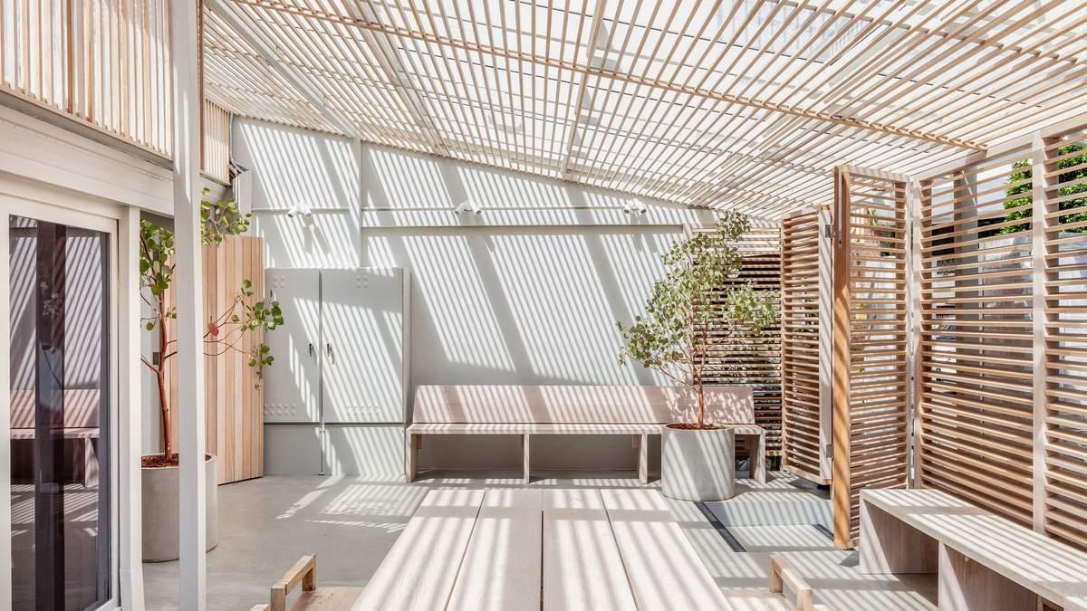 Интерьеры из кедра и эвкалипта: фото экологического спа-центра в Австралии