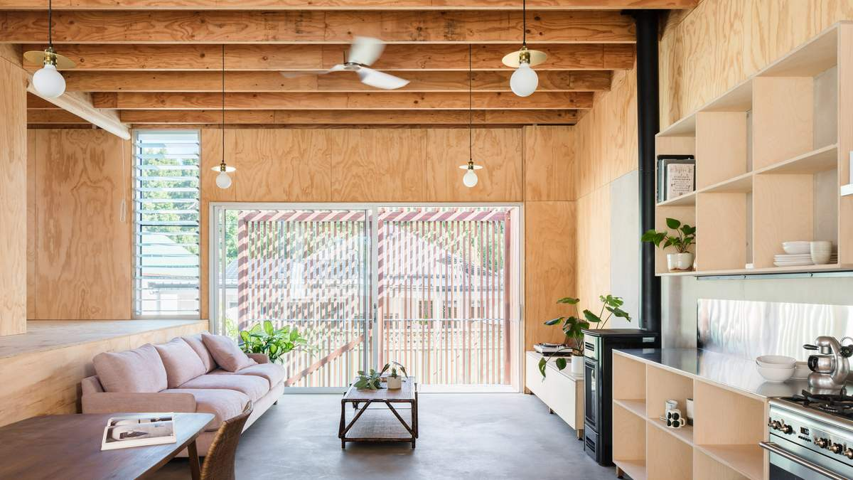 Як облаштувати повністю дерев'яний інтер'єр вдома: приклад з Австралії – фото