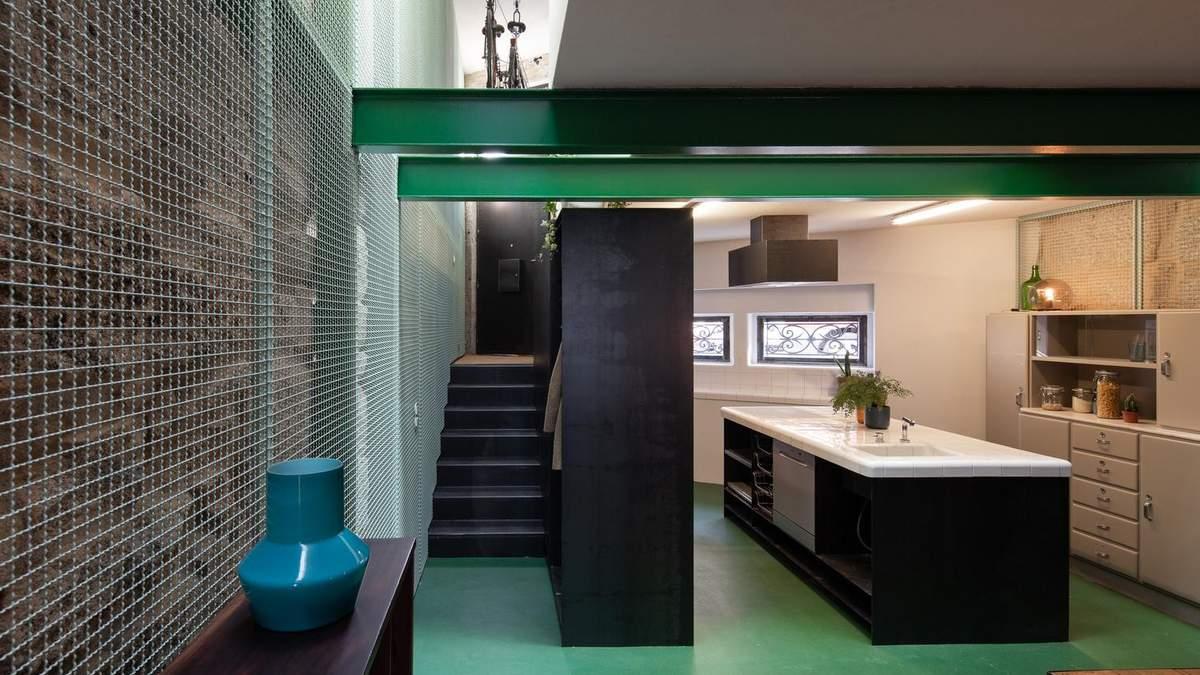 Як правильно використовувати зелений колір в інтер'єрі: фото будинку в Португалії