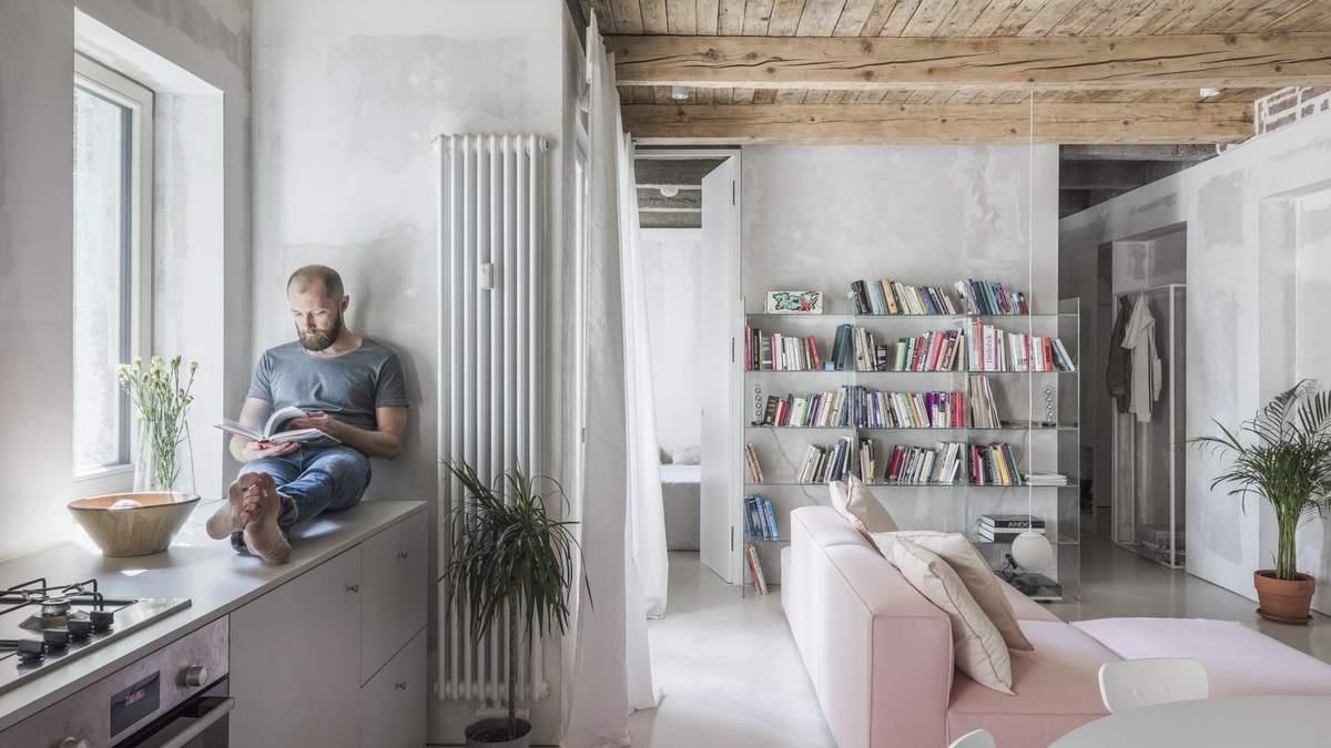 Як розширити житловий простір в трьохкімнатній квартирі: фото стильного ремонту з Братислави