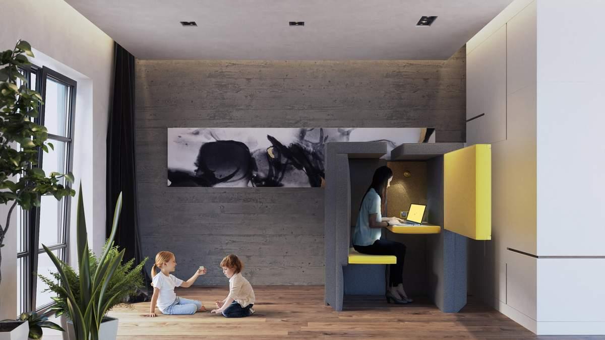 Диван, который превращается в офис: креативная разработка из Лондона – фото