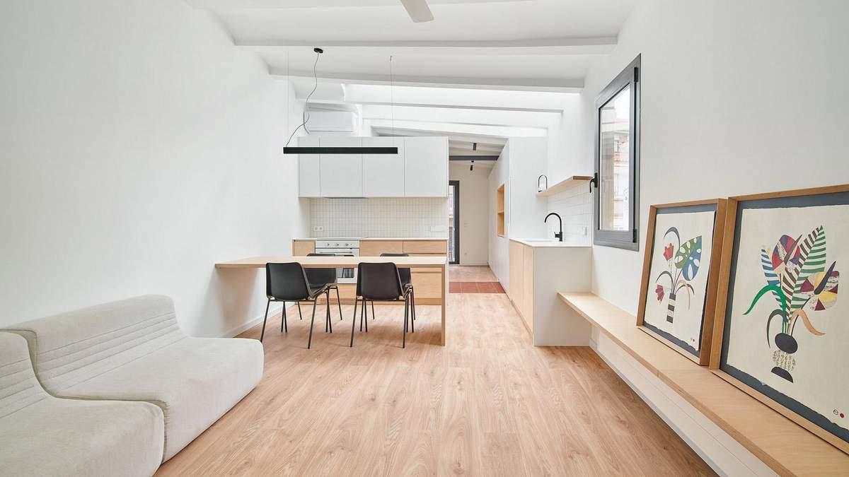 Класичний мінімалізм у білих тонах – концепт оновлення історичного будинку в Іспанії