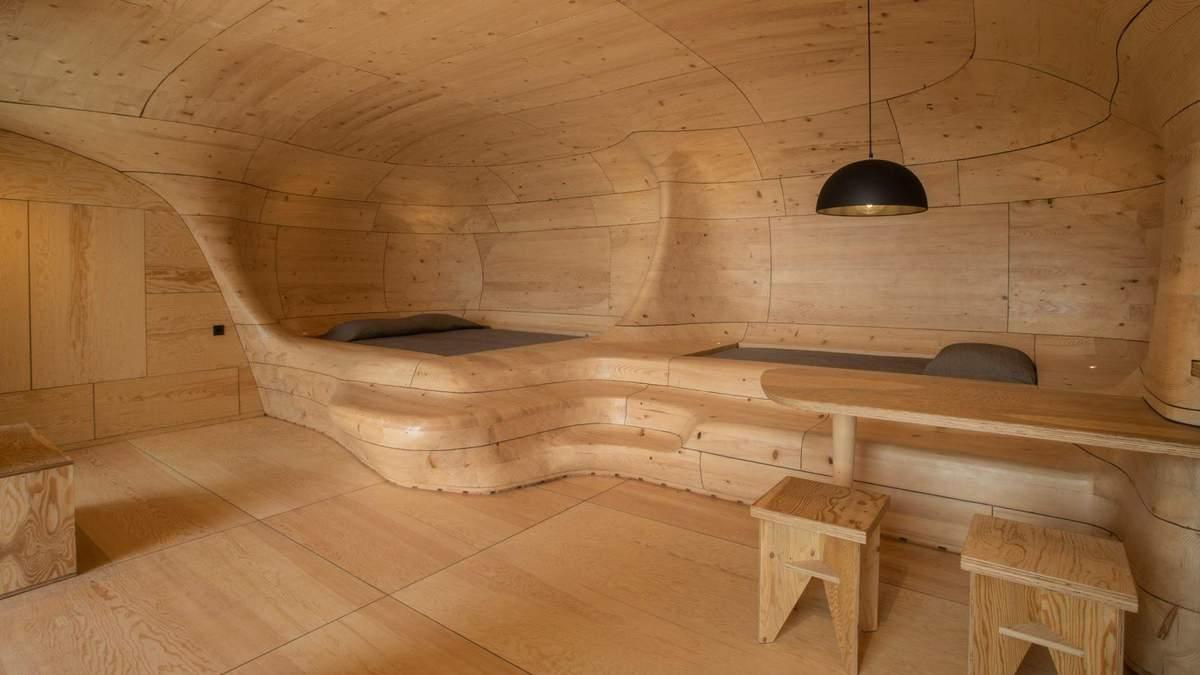 Интерьер десятков кусков: фото невероятного гостиничного номера в пещере