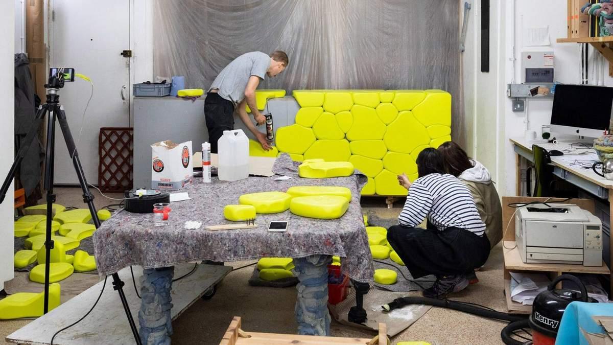 В виде воздушных шариков: в Швеции изготавливают необычную облицовку для стен
