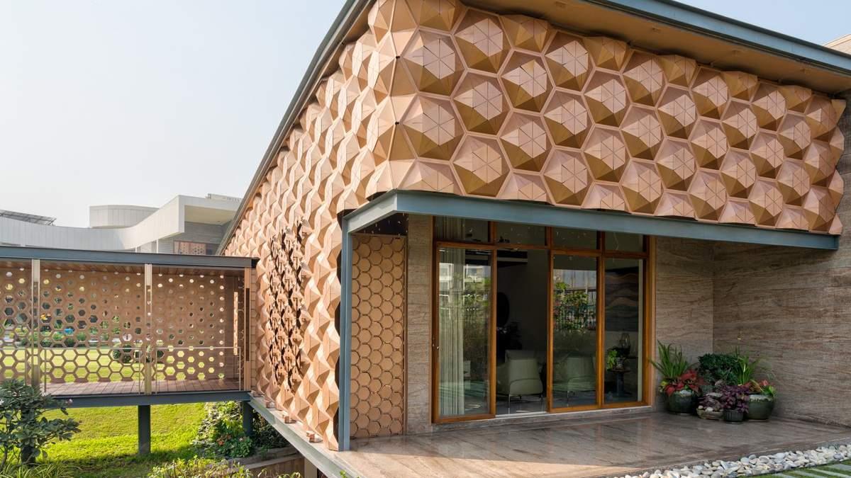 Будинок-вулик: приголомшливий інтер'єр приватного будинку з Індії – фото