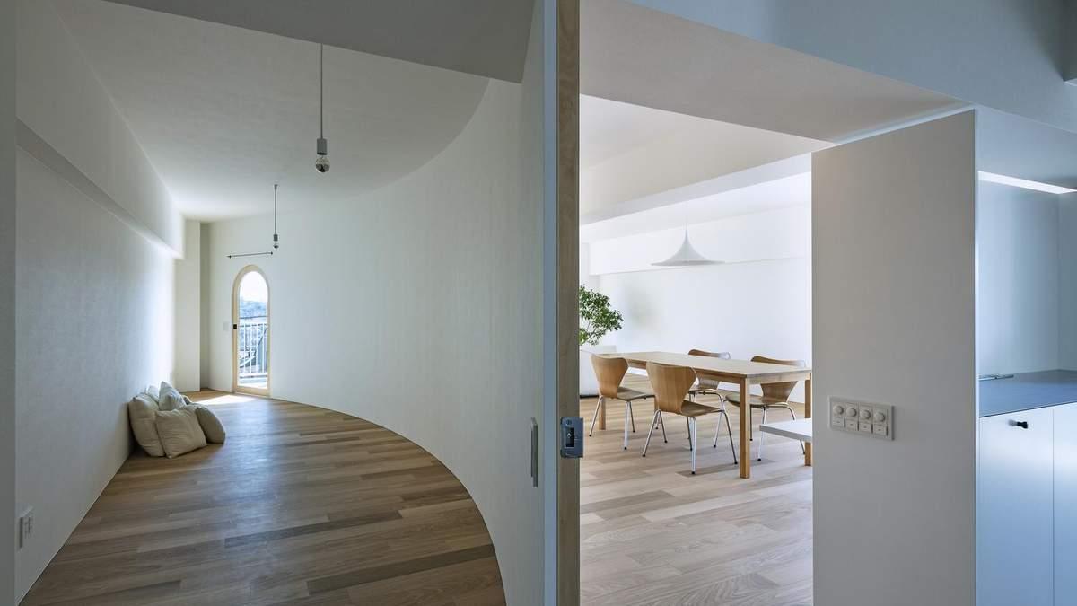 Півкругла квартира: як зробити світле житло з темного та незручного помешкання – фото