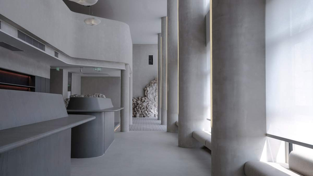 Сучасний дизайн офісу в Пекіні