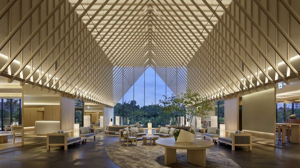 Как в палатке: в Японии открыли отель с необычным интерьером – интересные фото