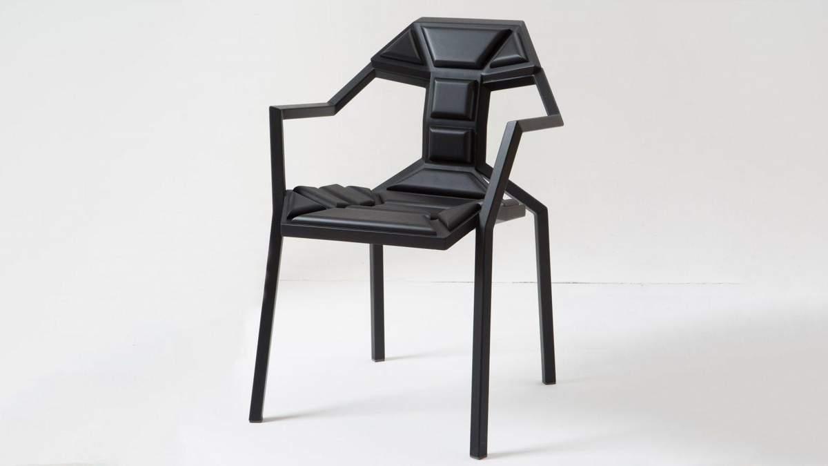 Крісло-пазл: грузинський дизайнер створив стілець, який складається з 18 елементів – фото