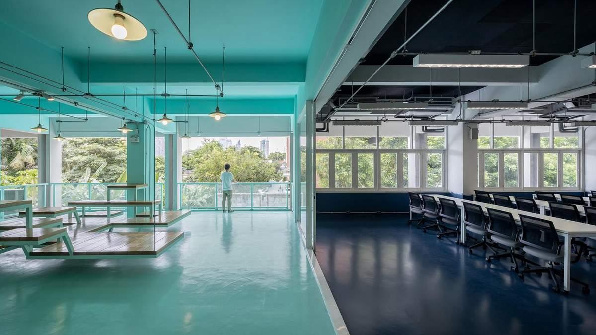 Монохромність в дизайні: креативний інтер'єр університету з Таїланду – фото