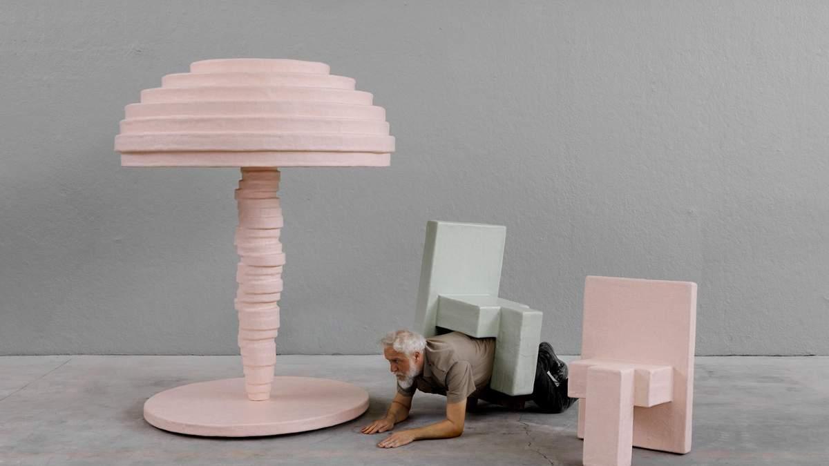 Супер Маріо у пастельних тонах – дивні дизайнерські меблі з виставки у Турині: фото