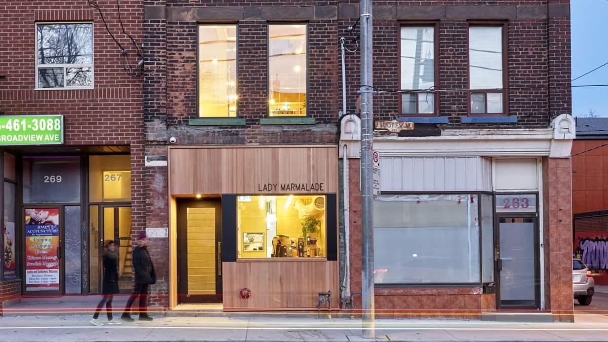 """""""Мармеладний ресторан"""": дерев'яний інтер'єр маленького закладу в Канаді"""