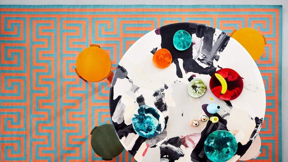 Суміш кольорів та середземноморський стиль: у Лондоні представили колекцію килимів – фото