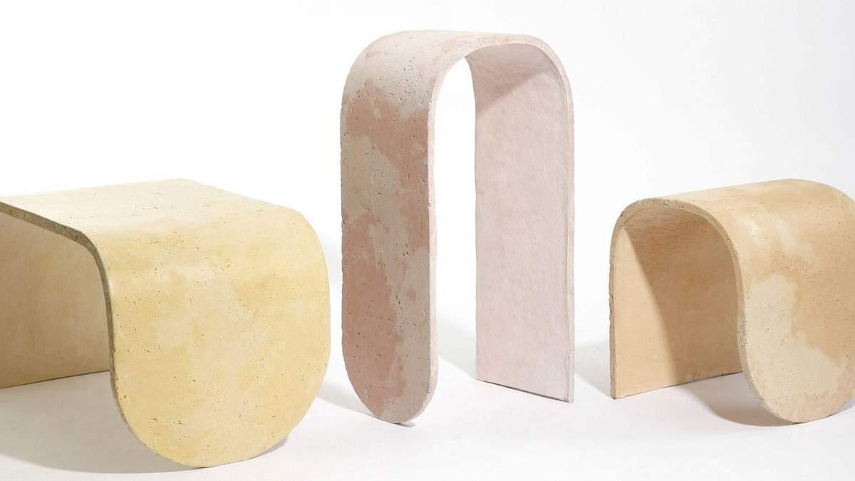 Железобетонные стулья: в США дизайнер представил странную мебель – фото