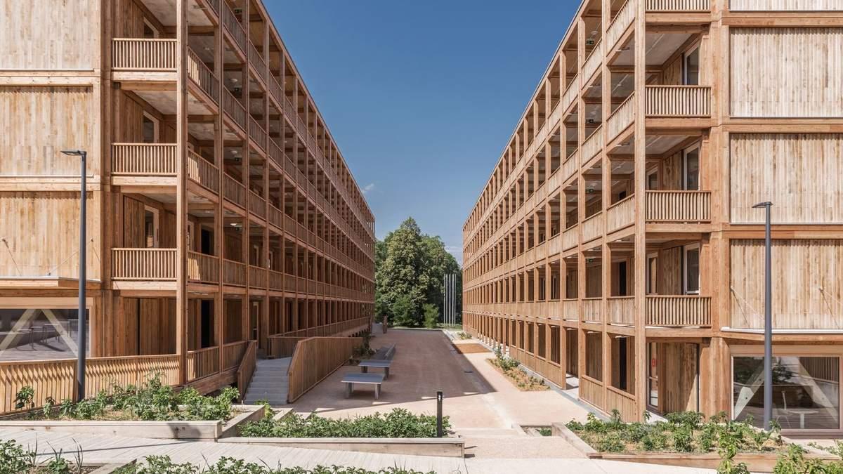 Полностью деревянная многоэтажка: в Женеве появился масштабный экологический проект – фото