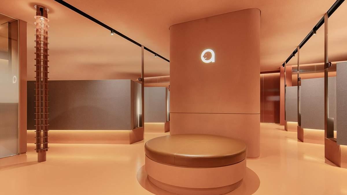 Красота терракотового цвета: в Корее открыли монохромный салон красоты – фото