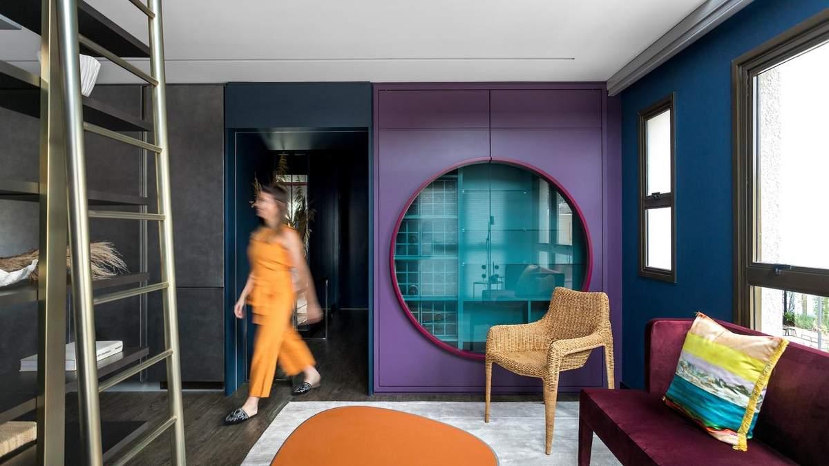 Японский стиль в интерьере: фото цветной квартиры из Бразилии