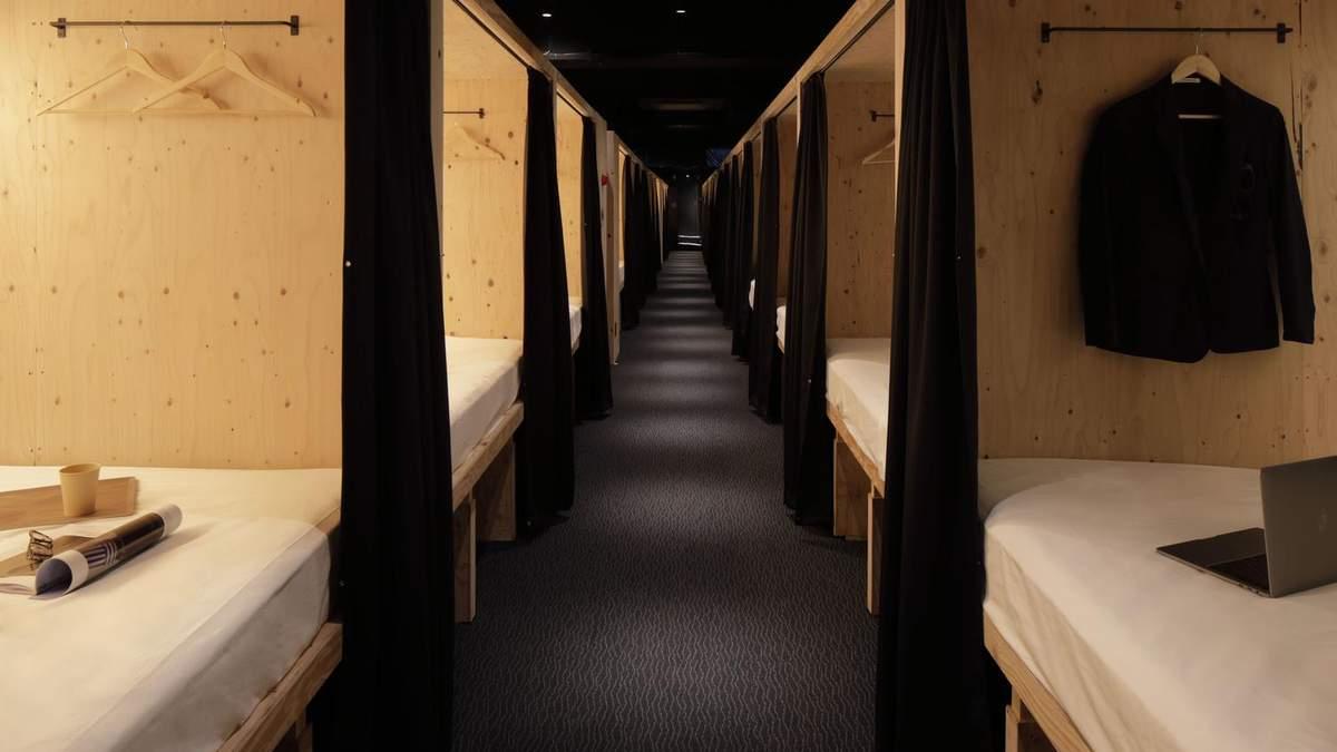 Купейные места в центре Хиросимы: в Японии открыли отель с миниатюрными номерами – фото