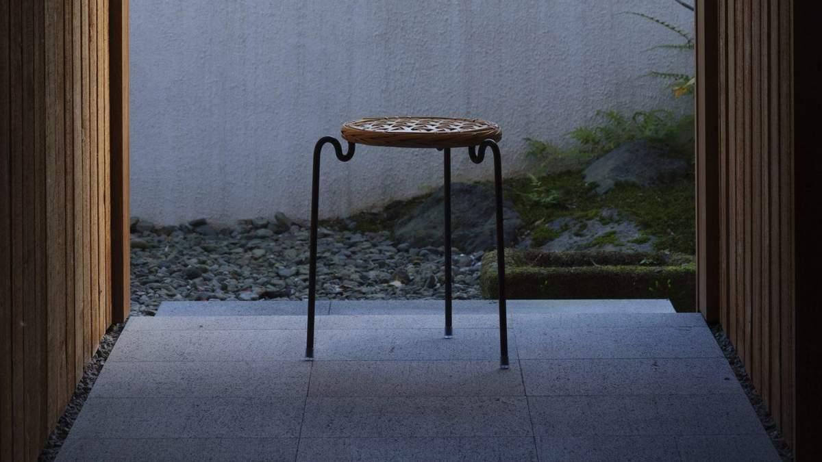 Кресло из бамбука: в Японии представили сборный стул – фото