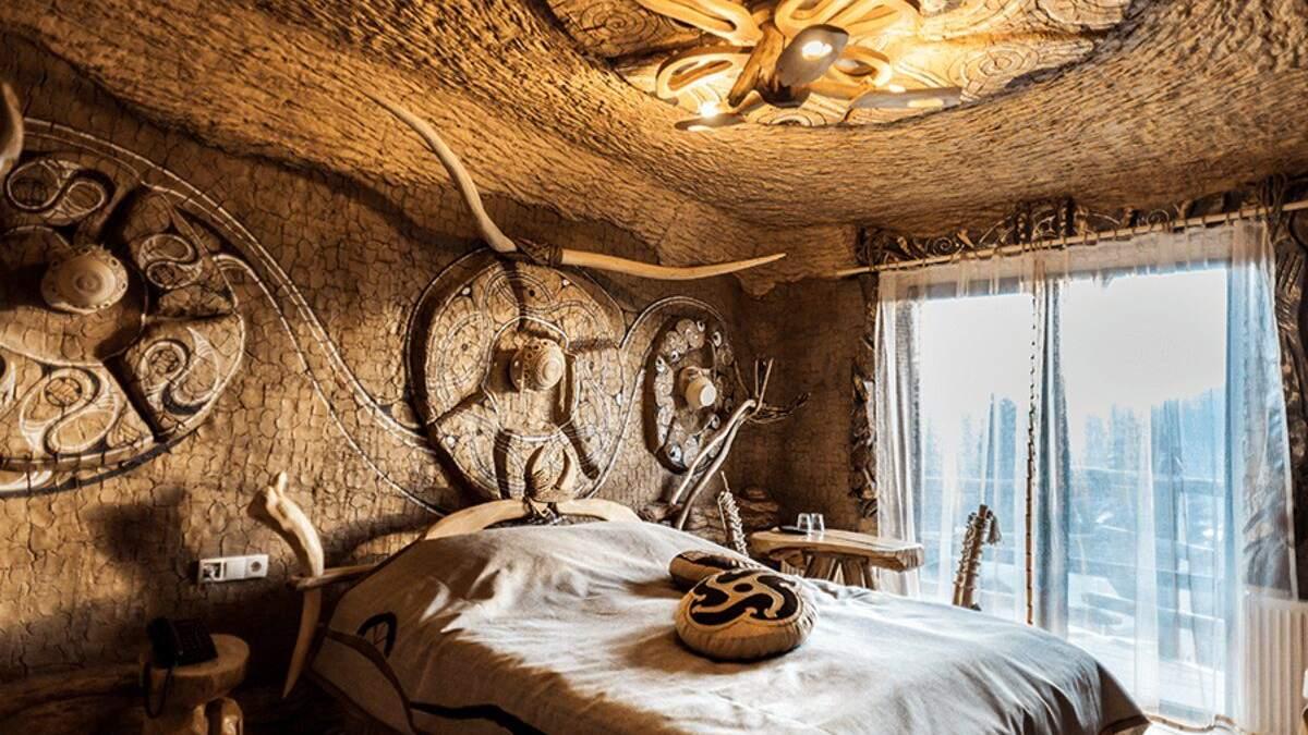 Ніч у Київській Русі: фото готелю у Карпатах з незвичними, але розкішними номерами