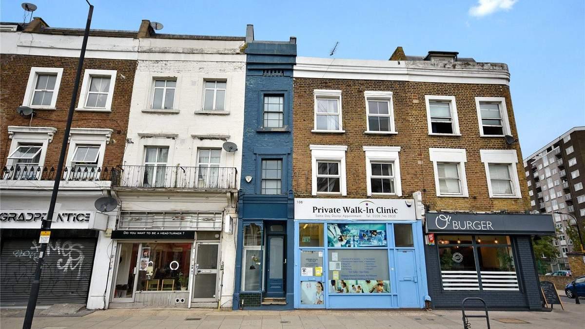 Самый узкий дом Лондона привлекает внимание туристов