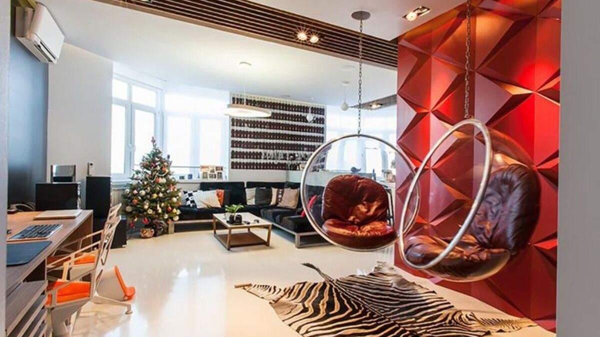 210 пляшок кока-коли й шкура зебри: як виглядає київська квартира в стилі поп-арт – фото