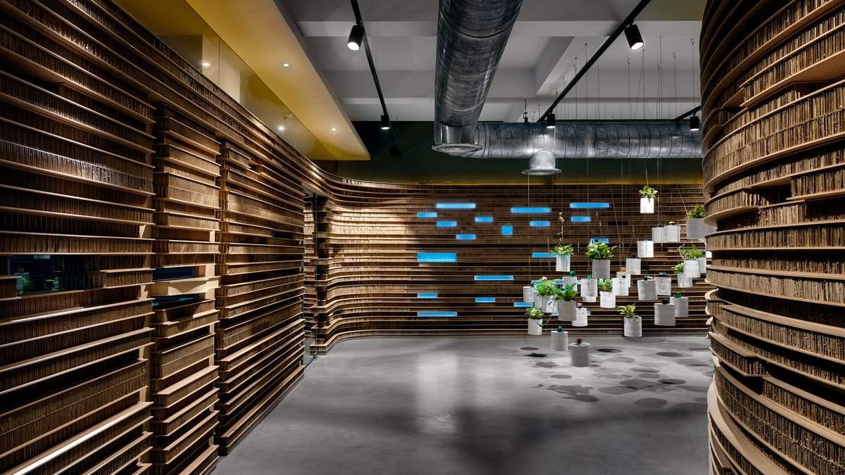 Как построить офис из картона: фото невероятного экодизайна из Индии