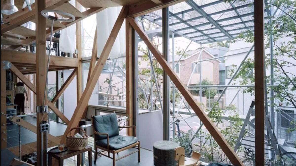 Жить, как дикие звери: японский архитектор построил для себя причудливый дом – фото