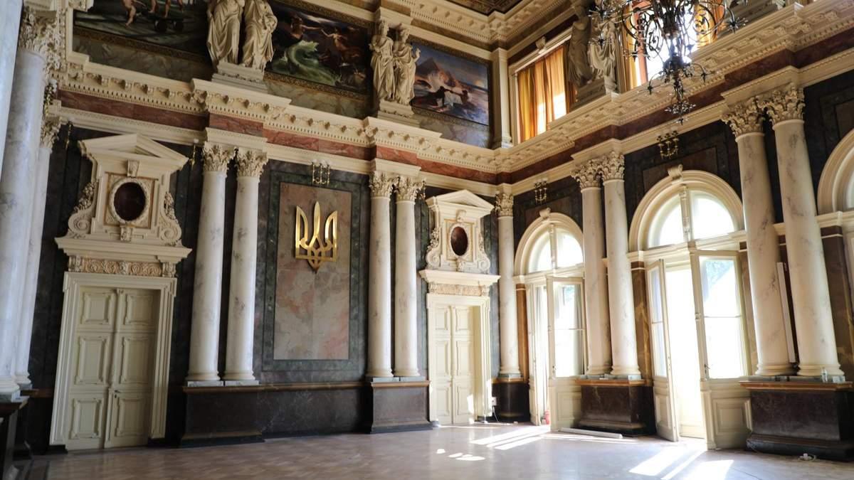 Галицкая роскошь: во Львовской политехнике отреставрировали два старинных зала – фото и видео