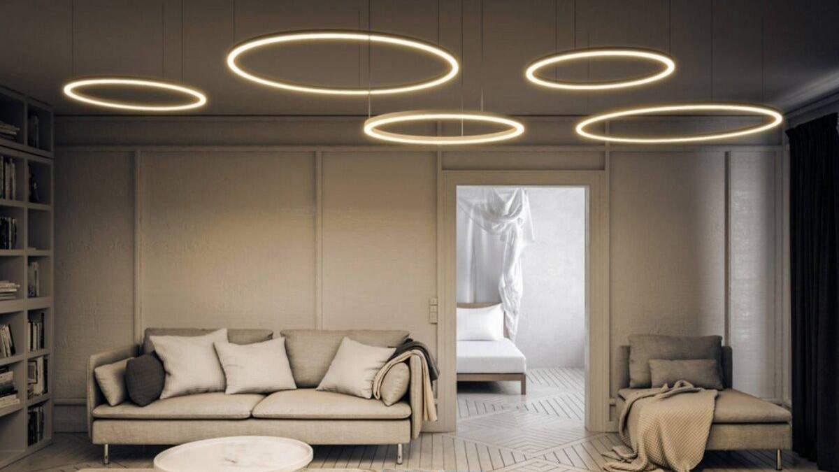От освещения зависит атмосфера в помещении