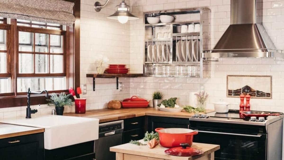 Правильно оформлений інтер'єр зробить кухню комфортною