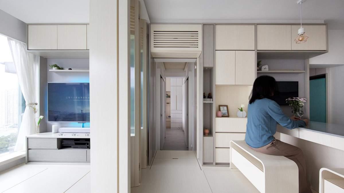 Фен-шуй і меблі, що керуються голосом: як виглядає надсучасна квартира в Гонконзі