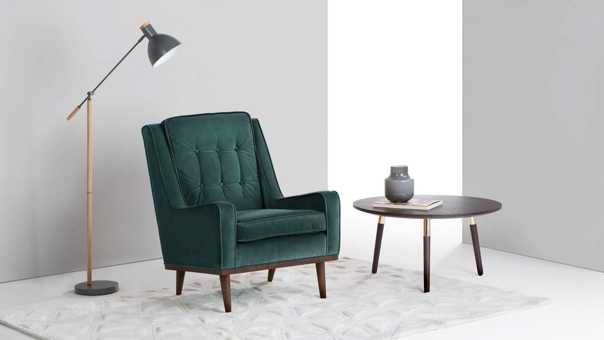Можна підібрати низьке крісло під будь-який стиль інтер'єру