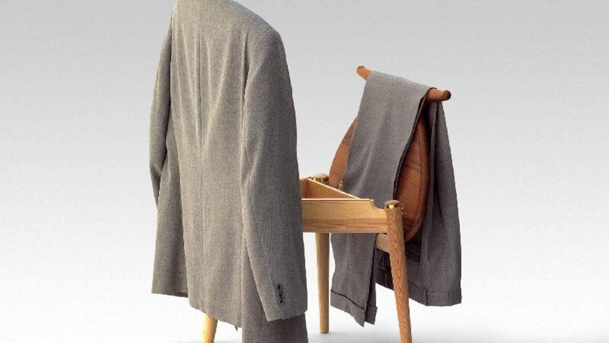 Ви точно його купите: дизайнери створили стілець, на який можна вішати одяг