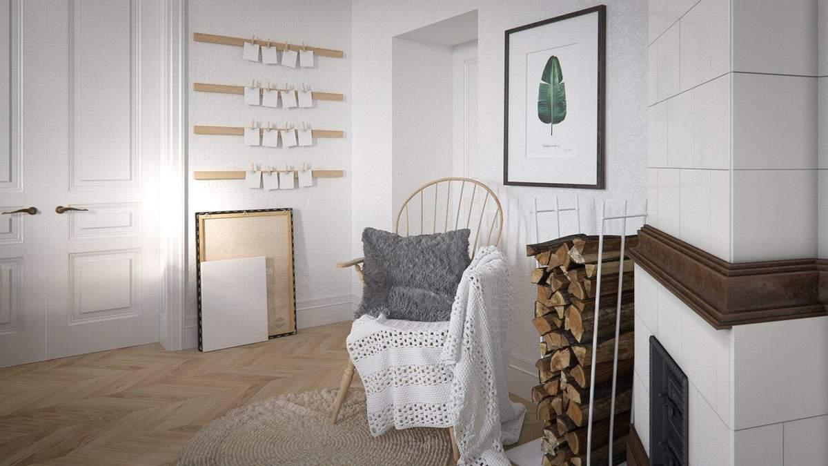 Яркий белый и старинная печь: как выглядит квартира в старинном доме в центре Львова
