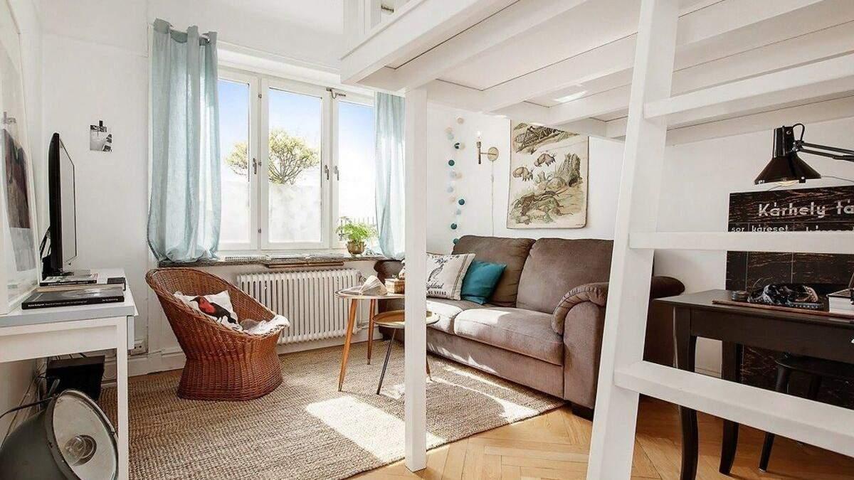 В небольшой квартире нужно экономно использовать пространство
