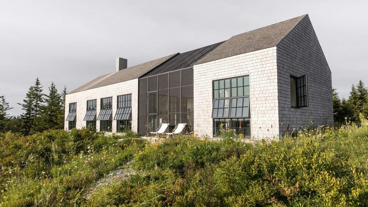 Разрезанный пополам: фото роскошного особняка на острове в США