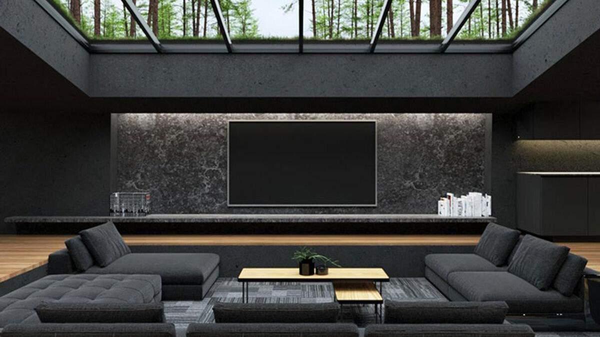 Світлою в інтер'єрі зробили тільки підлогу – Дизайн 24