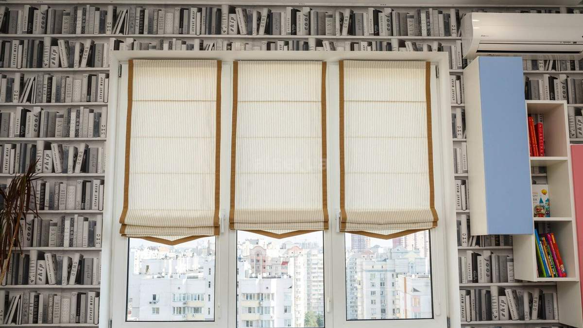 От штор зависит общий вид комнаты