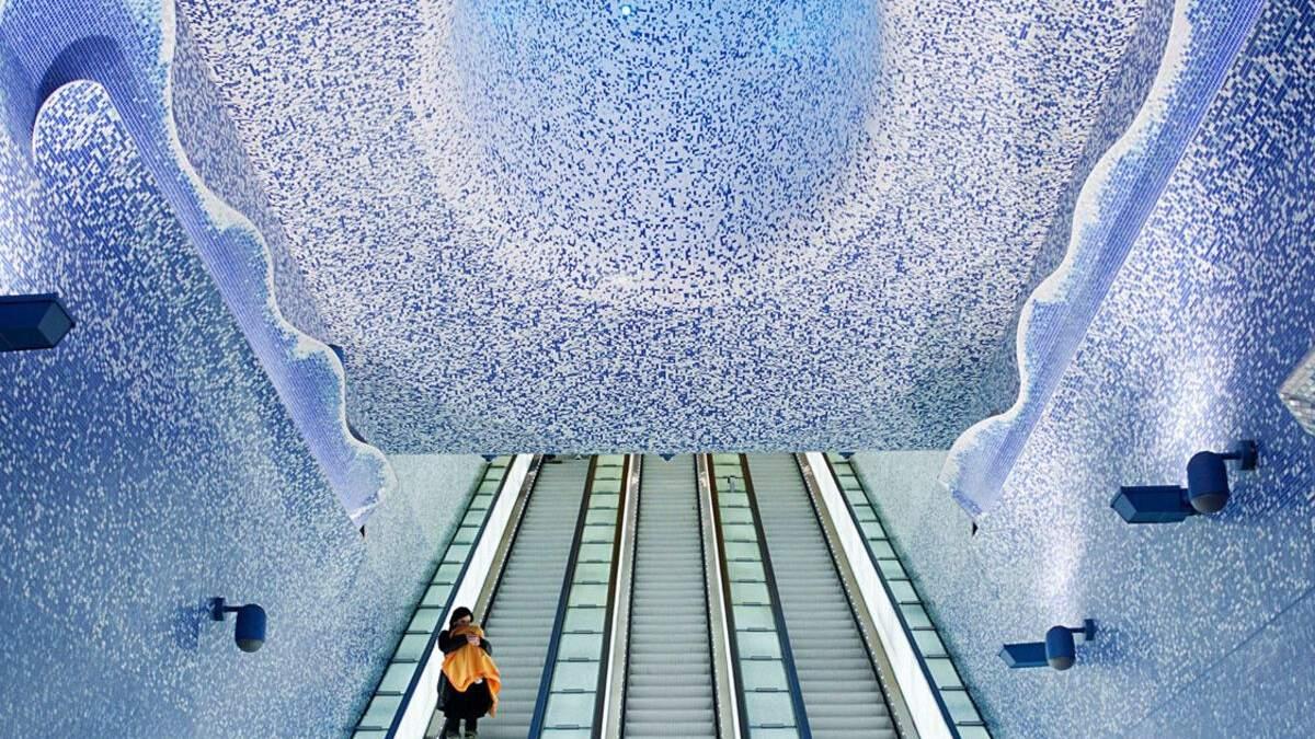 5 самых красивых станций метро в разных странах: фото интерьеров