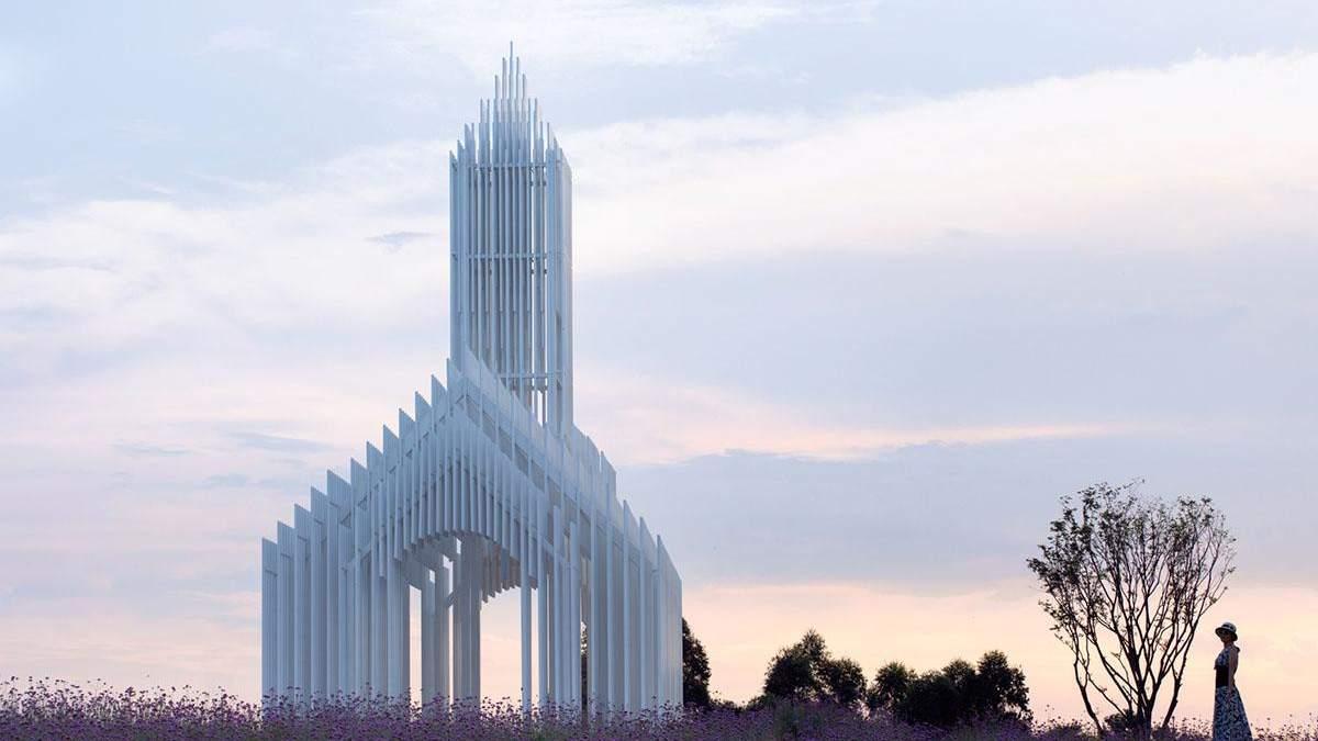 Впечатляющая архитектура: в Китае построили прозрачную церковь – фото необычного сооружения