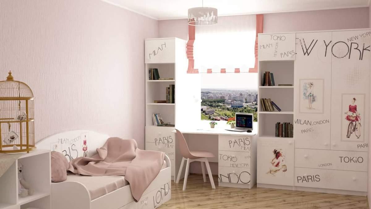 Приклад оформлення дитячої кімнати