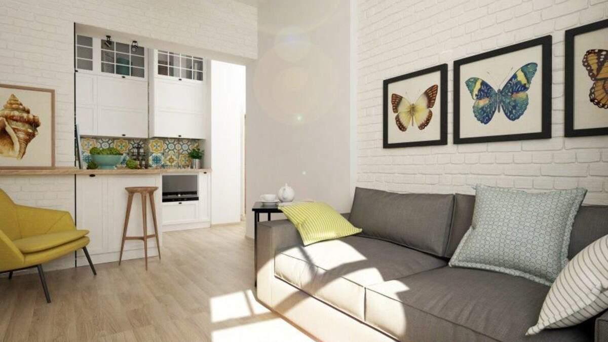 Маленька квартира у старовинному домі: фото інтер'єру зі Львова
