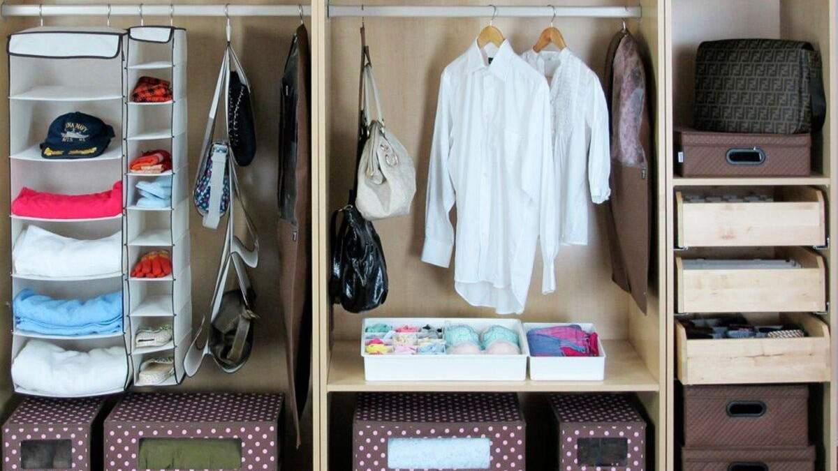 Зберігання речей у маленькій квартирі
