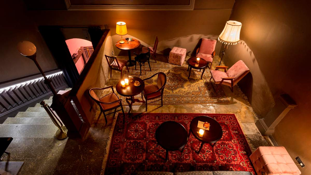Секретний бар Pink Room в Києві