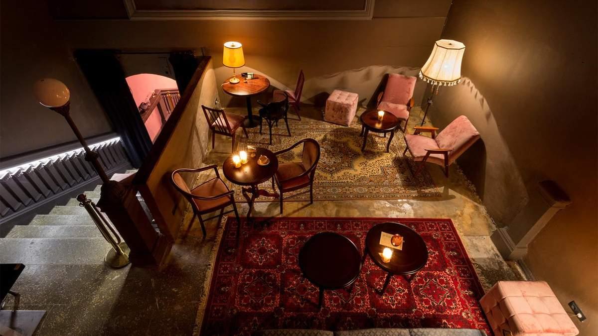 Секретный бар Pink Room в Киеве