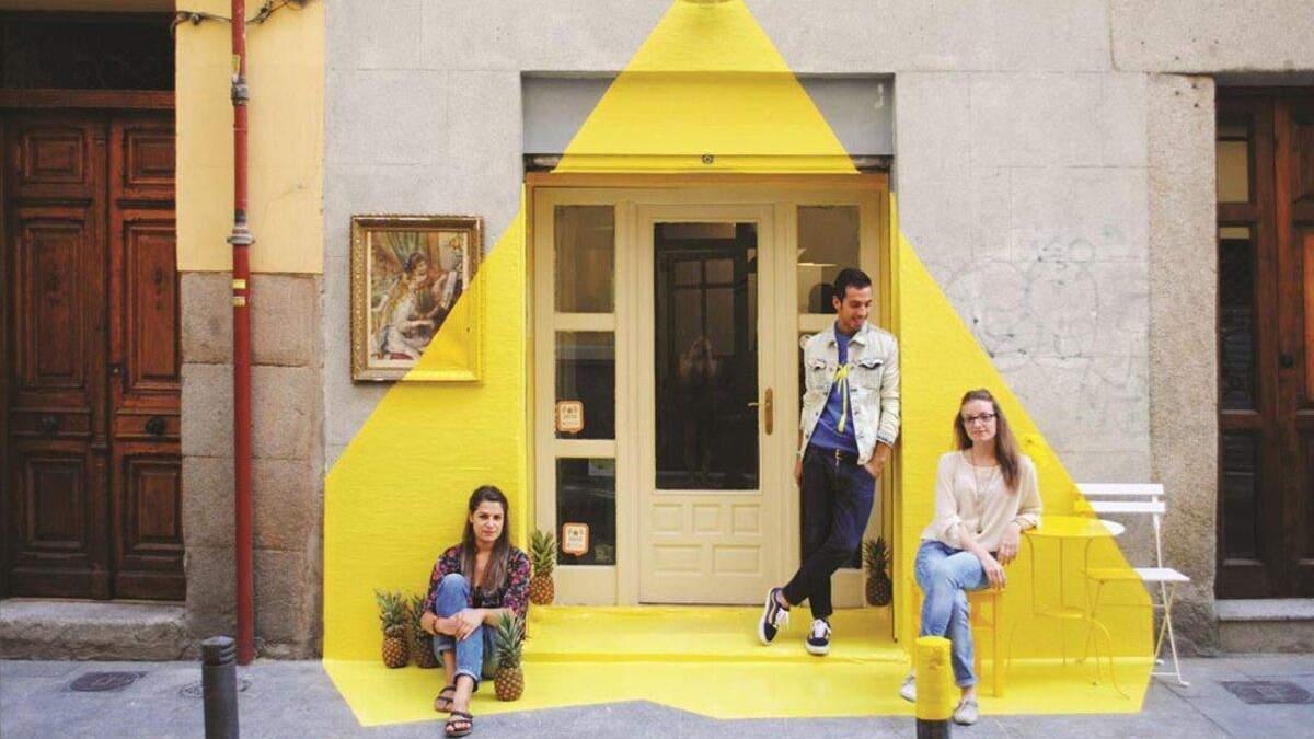 Заклад у Мадриді з незвичним фасадом