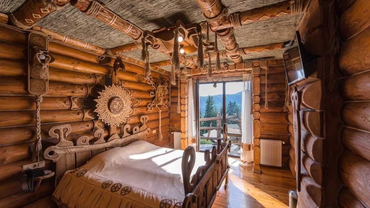 Отели в Карпатах с нестандартным интерьером
