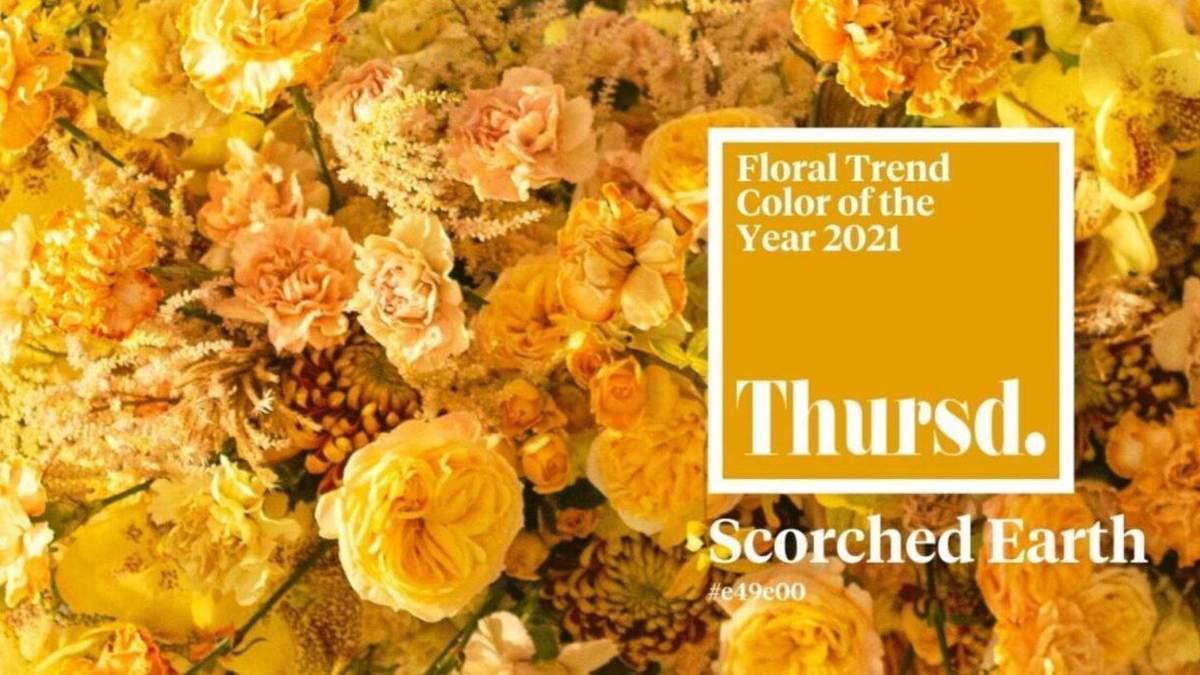 Колір 2021 року у флористиці привертає увагу до екології